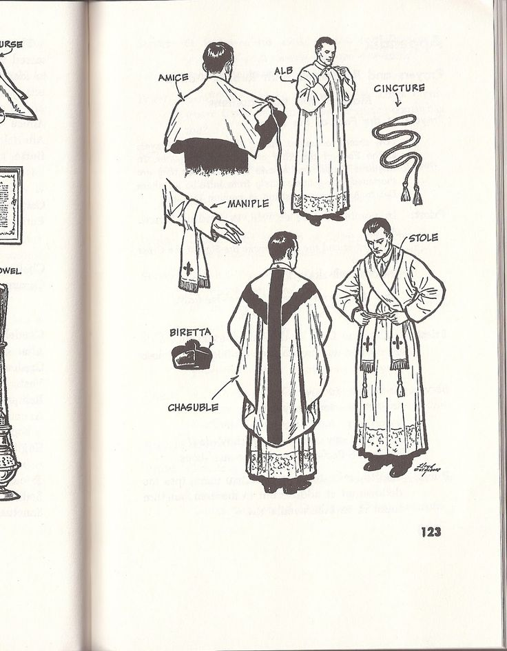 Vestments Glossary - kencollins.com