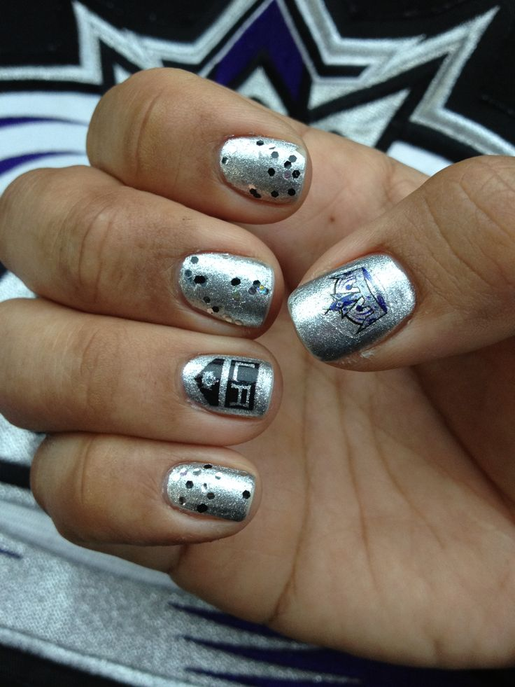 LA Kings nails!!!