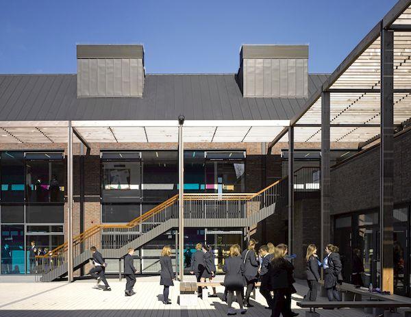 Les Beaucamps High School, Guernsey external space