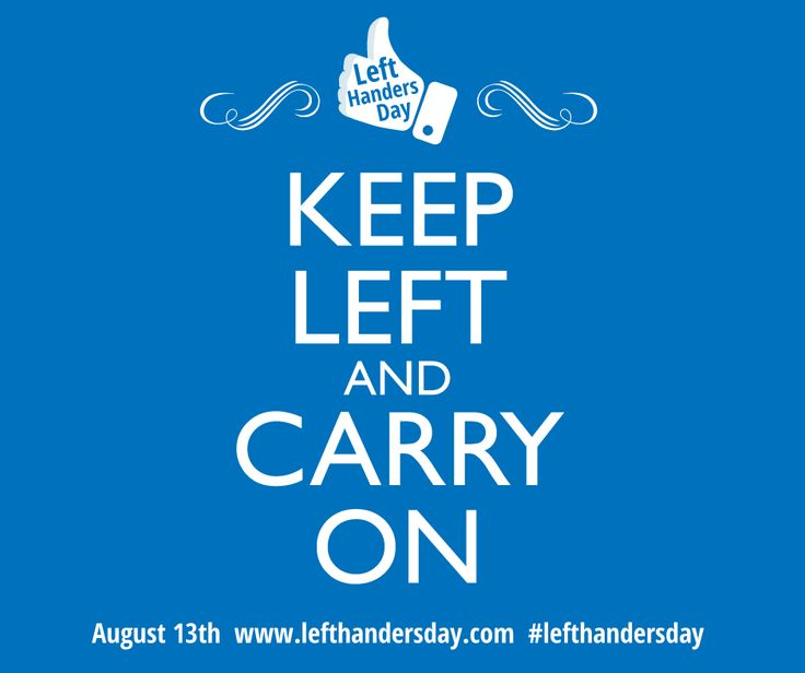 Keep Left and Carry On