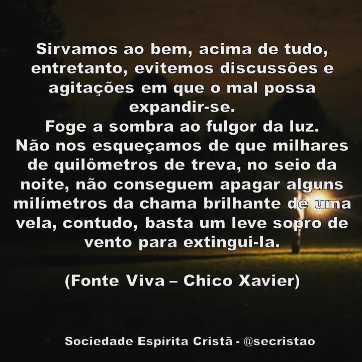 Emmanuel Livro Fonte Viva Chico Xavier Frases Espíritas