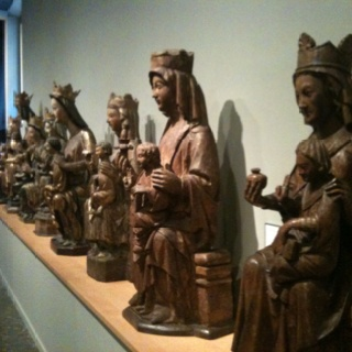 Row 'o Mary at the Frederic Mares museum in #Barcelona