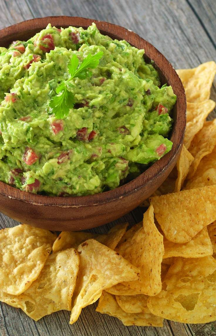 Fresh and Fast Guacamole Ingredients: 4 avocados, cubed 4 roma tomatoes, seeded and diced 1 bunch cilantro, leaves only 1 jalapeno, finely minced 2 garlic cloves, pressed or minced ½ cup red onion, diced 1 juice of lime Directions: Mix onion, cilantro, jalapeno, lime juice and garlic. Add chopped tomatoes and mix. Gently fold in avocados. Serve with fresh veggies or tortilla chips.