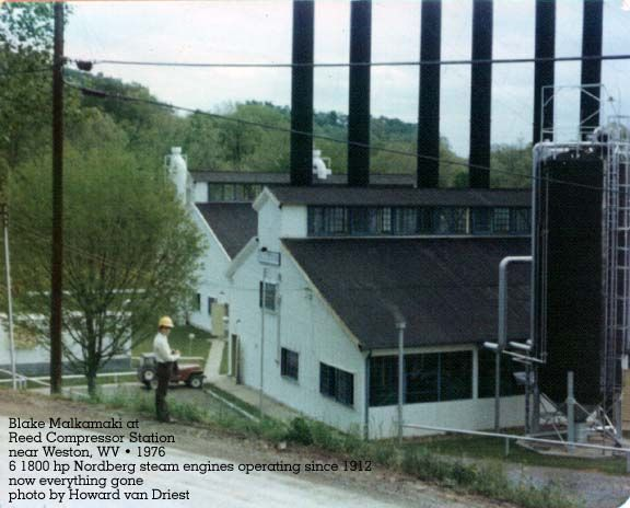 Steam and gas compressor stations in Weston and Grantsville, WV