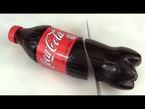 Bonbon Coca Cola XXL Gummy Coca Cola Bottle Bouteille de soda en gélatine - YouTube