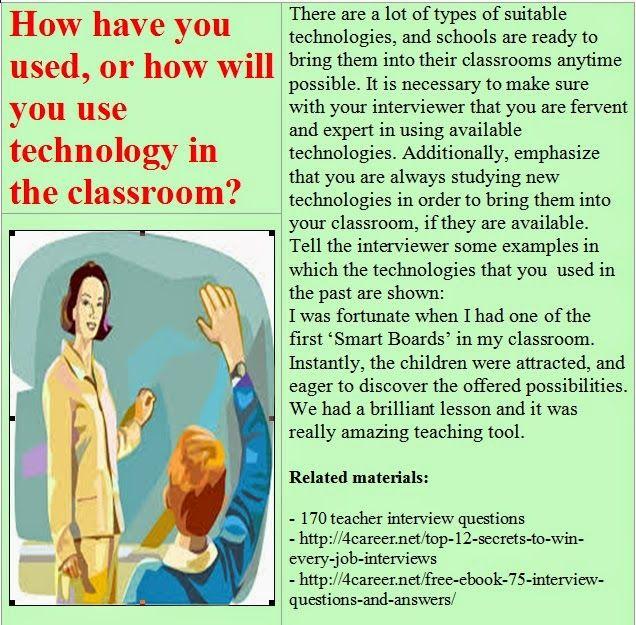 20 best images about TEACHER INTERVIEW on Pinterest