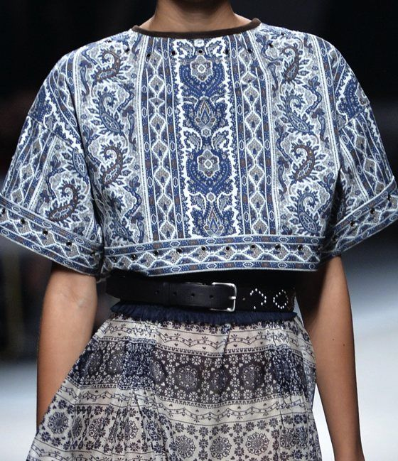 patternprints journal: PRINTS, PATTERNS, TEXTURES, DETAILS FROM MILAN CATWALKS (WOMENSWEAR S/S 2016) / Fay