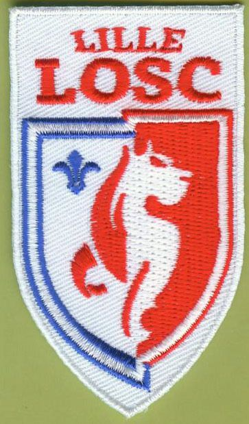 LOSC Lille OSC French France Football Soccer Badge Embroidered Patch