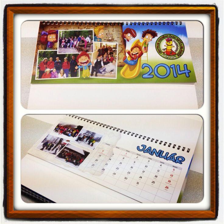 Kalendáre pre CVČ (Centrum voľného času) v Senici