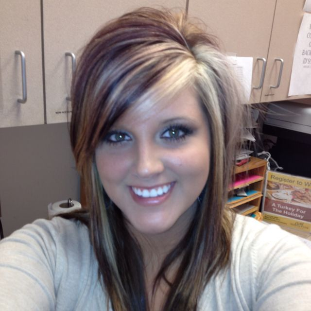 1000 Ideas About Chunky Blonde Highlights On Pinterest