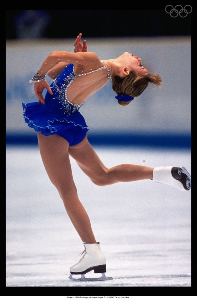 Nagano 1998-Figure skating-singles W-LIPINSKI Tara (USA) 1st. loved her when I was little , even had a Barbie doll :)