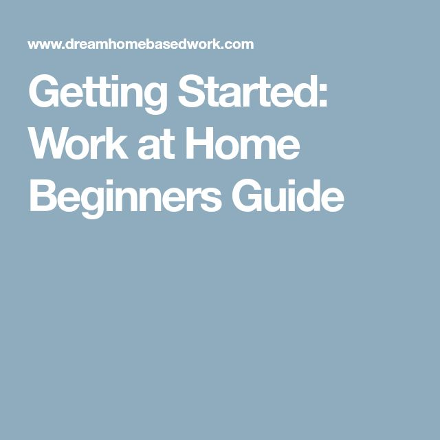 How To Find Legitimate Work From Home Jobs: Beginners