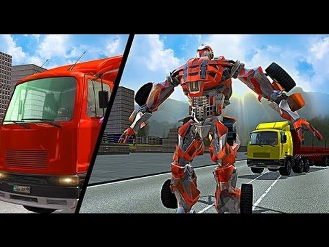 juego de carros para niños de autos transformers, videos y juegos infant...