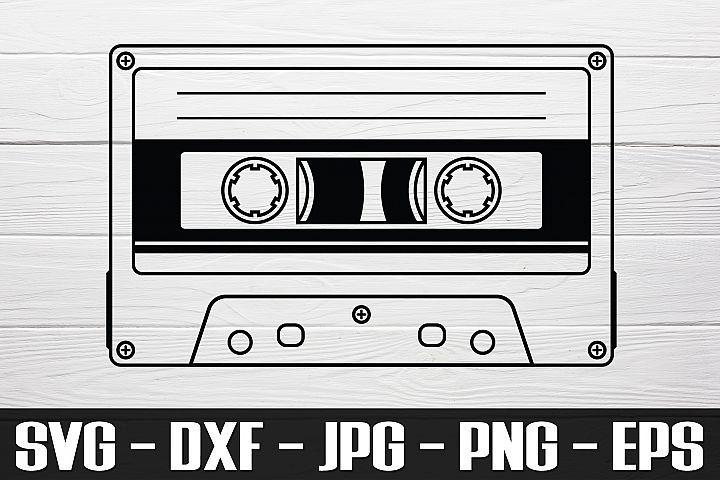 Cassette Tape Svg Png Eps Cassette Tape Clipart 418967 Svgs Design Bundles Cassette Tapes Cassette Clip Art