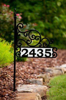 House Number Sign   Alpine Ascent By Alabama Metal Art. $129.00. Most Items  Ship