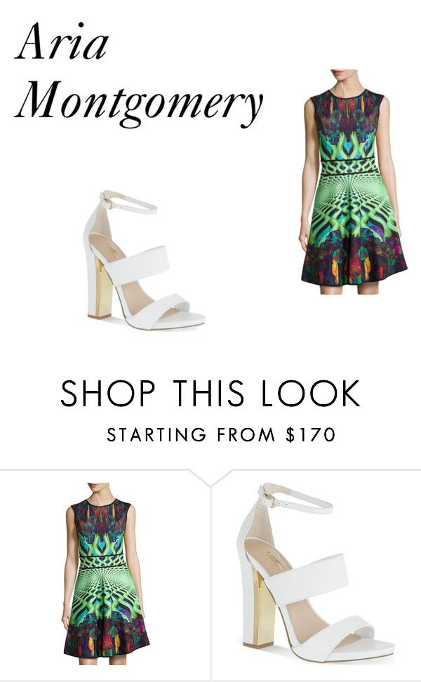 """""""Aria Montgomery"""" by emma-esselmark on Polyvore featuring Mackenzie Mode and Carvela"""