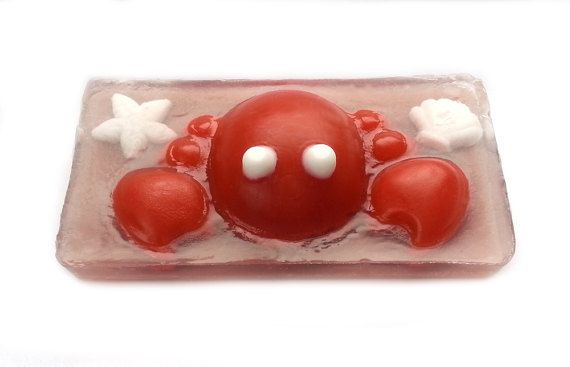 Check out this item in my Etsy shop https://www.etsy.com/ca/listing/507779093/crab-soap-beach-soap-kids-soap-children