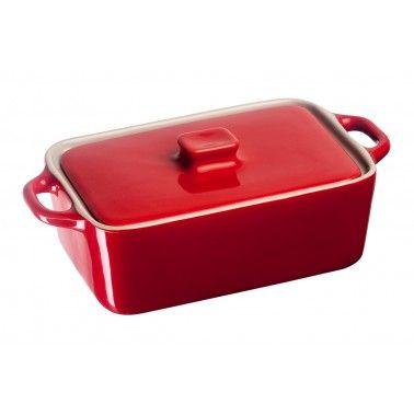 Cookplus Dikdörtgen Casserole Fırın Kabı Kırmızı