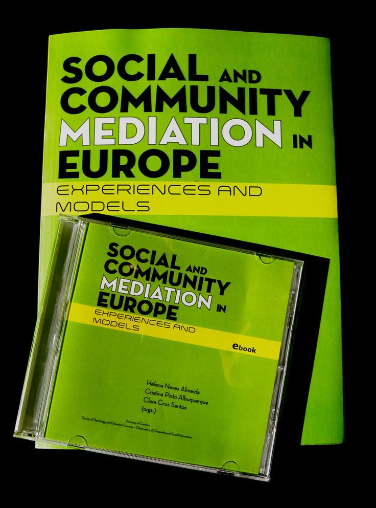 Social And Community Mediation In Europe: Experiences and Models