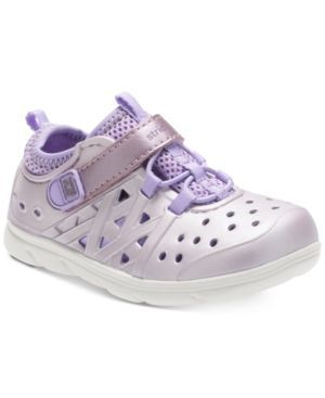 Stride Rite M2P Phibian Shoes, Toddler Girls (4.5-10.5) - Purple 10