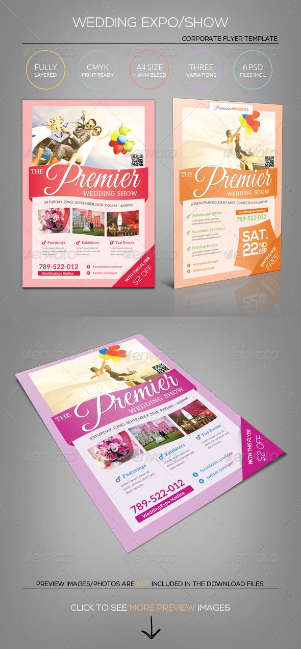 98 best Flyer\/Card images on Pinterest Posters, Design posters - wedding flyer