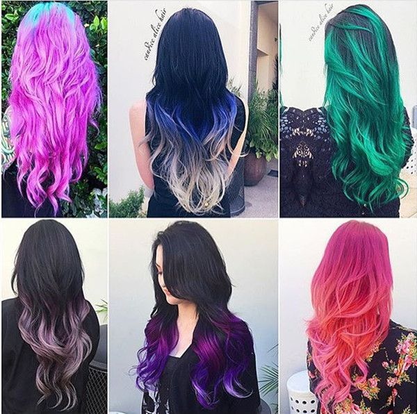 Incredible nice hair color collections from @candicealice~ Love these shows with hair extensions so much