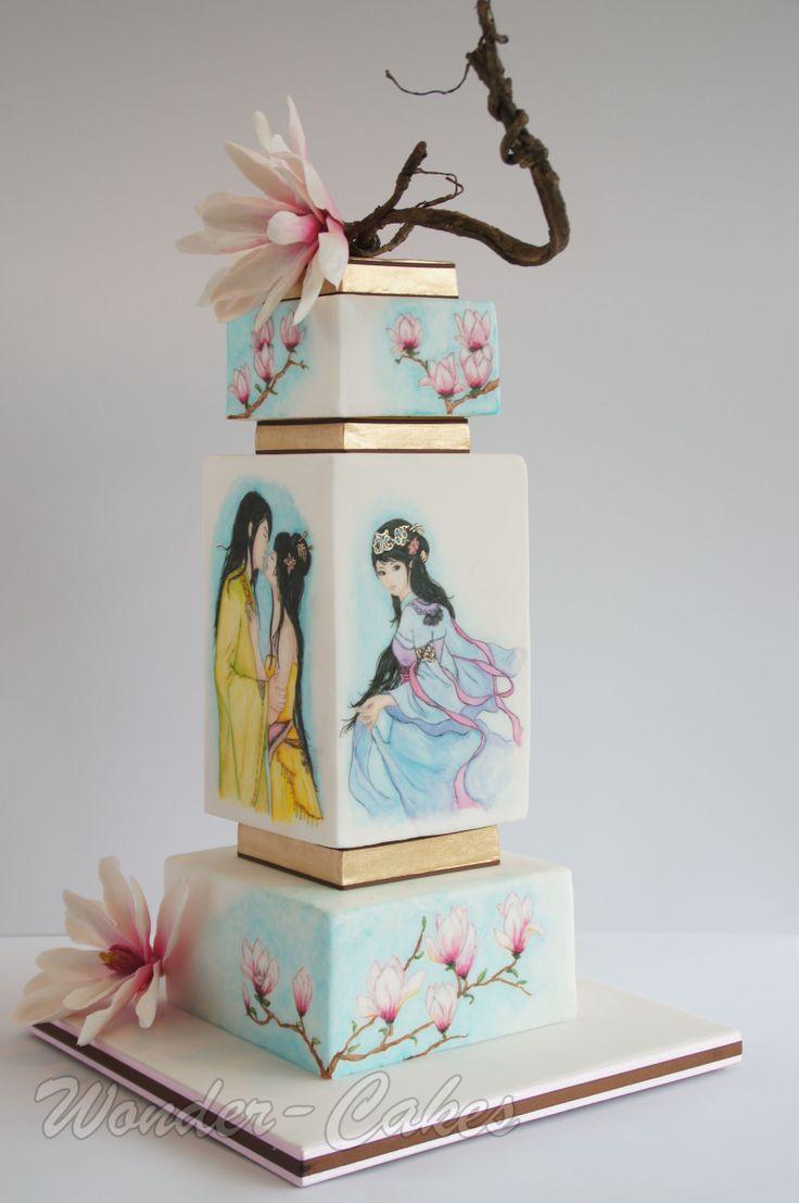 The 438 best CakeArt - Wedding: Japanese images on Pinterest | Cake ...