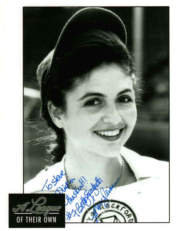 Tracy Reiner (A League of Their Own)(Signed at Chiller Theatre 10-25-14)