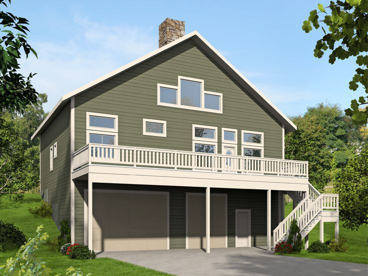 Small House Plans With 3 Car Garage Carriage House Plans 3 Car Garage Apartment Plan 053g