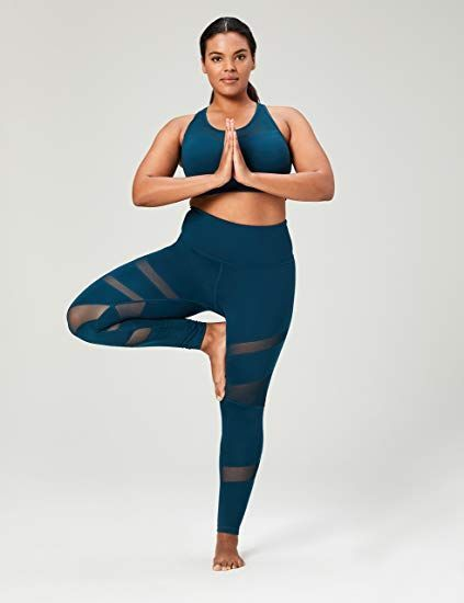 06f9ef5ce5 Core 10 Women's Icon Series - The Warrior Mesh Plus Size Legging: Clothing  #plussize #leggings #yogapants