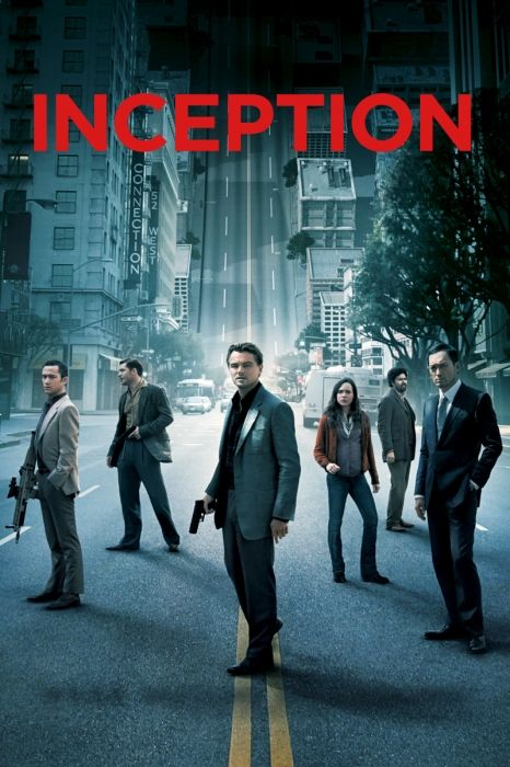 Inception. THIS MOVIE IS SO FRIGGING AWESOME