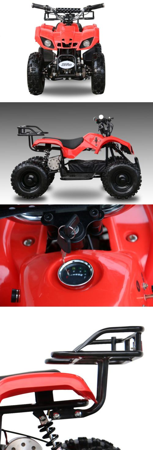 Complete Go-Karts and Frames 64656: Youth Outdoor Kids 500W Red Mini Quad Atv Dirt Motor Bike Electric Battery Toys -> BUY IT NOW ONLY: $529.99 on eBay!