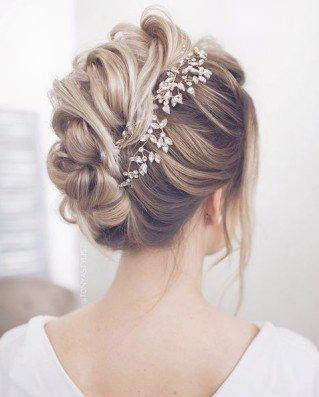 Die schönsten Brautfrisuren 2018: Wir sagen Ja zu diesen Haar … | Frauen Haar…