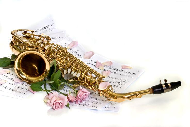 Saksofon, Nuty, Róże