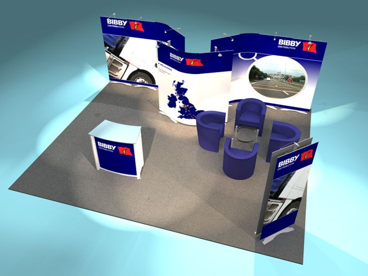 The Twist exhibition stand is one of the most flexible exhibition displays on the market.