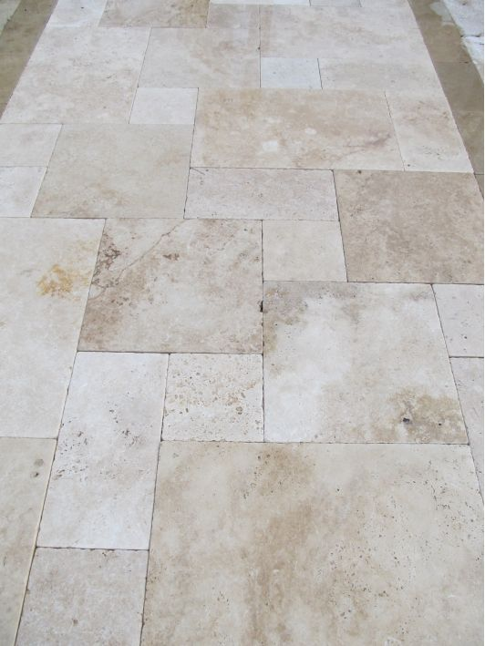 Ivory Travertine Pavers-Home and Garden Design Ideas!