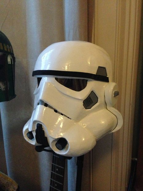 How to make a storm trooper helmet (on a budget) I went the easy route when I bought my Darth Vader Helmet a few years back.