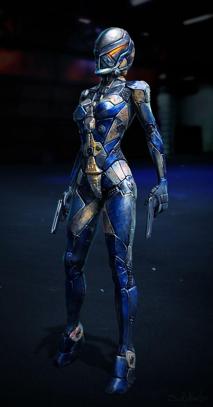 ArtStation - Sci-fi costume , Petya Hinkova