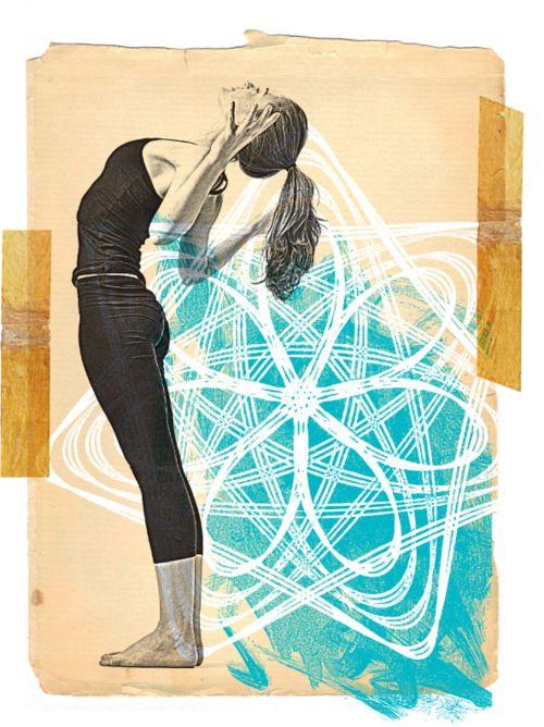 Open heart: Yoga Illustrations, Yoga Fit, Yoga Collage, Scarlet Seals, Yoga Art, Health, Templates Inspiration, Inspiration Art, Open Heart