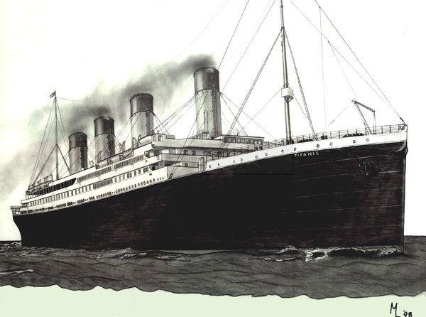 The Titanic by Sam-wyat.deviantart.com on @deviantART