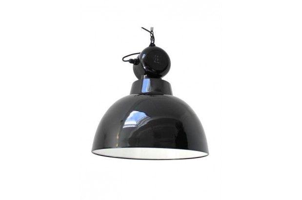 Lámpara Vintage Factory Negra