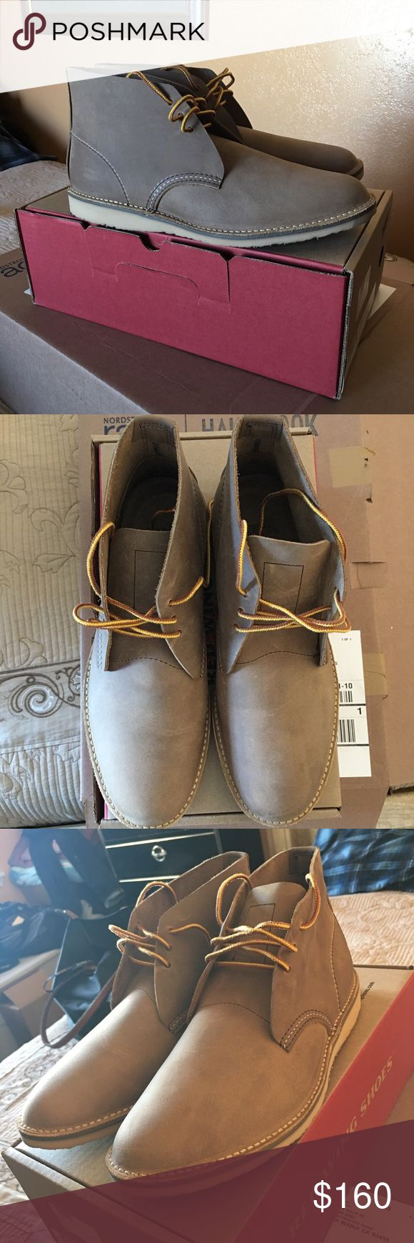 """Red Wing Weekender Chukka Boot (Sand) NEW Sizing: True to size. - Round toe - Topstitching - Lace-up - Welt midsole trim - Removable insole - Approx. 5.25"""" shaft height - Made in USA Red Wing Shoes Shoes Chukka Boots"""
