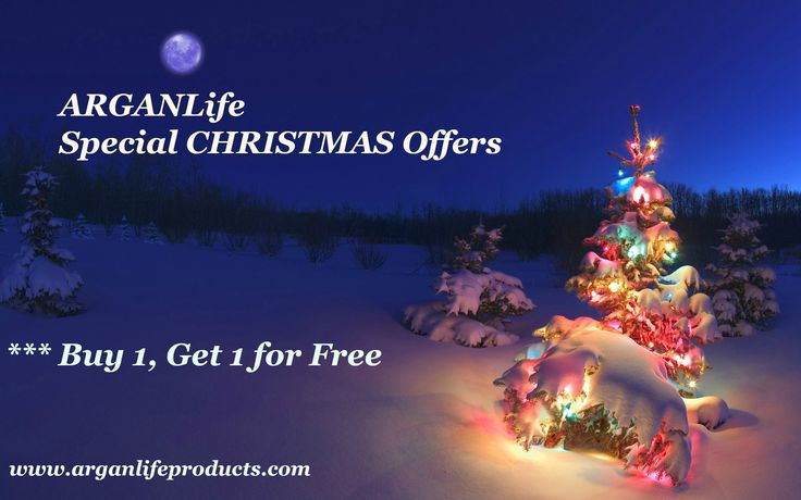 """Special Christmas Offers """"Buy 1, get 1 for free campaign"""" has began.  The campaign period is in between  13.12.2014 - 01.01.2015. You can have 2 products for  1 product price. ***After you buy the product , The only thing you need to do is sending  an email with this campaign code NY26091991P to info@lifeargan.com  #christmasoffer #arganoil #arganlife"""