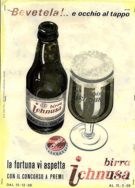 Birra ichnusa, prodotta in Sardegna