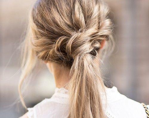 Fun ponytail. @thecoveteur