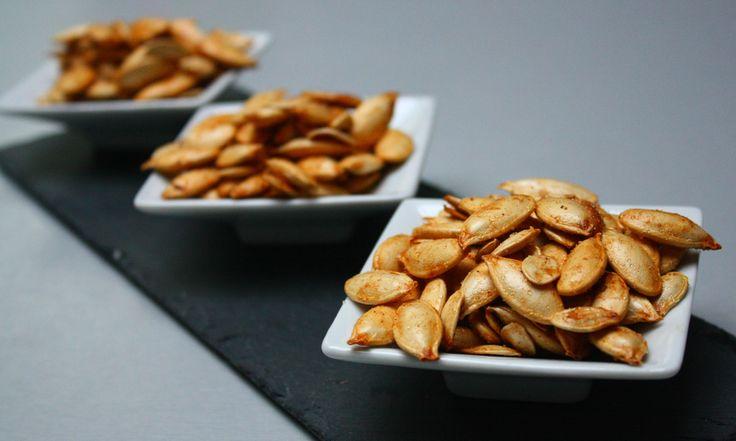 7 recettes de graines de citrouille grill es pour l - Graines de citrouille grillees au four ...