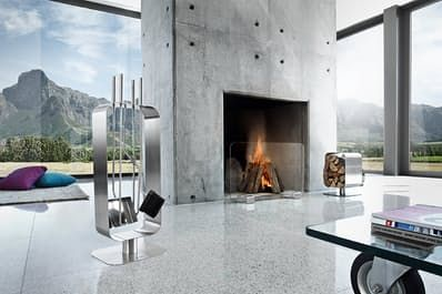 Best Modern & Contemporary Fireplace Screens: 2017 Annual Guide | Apartment Therapy
