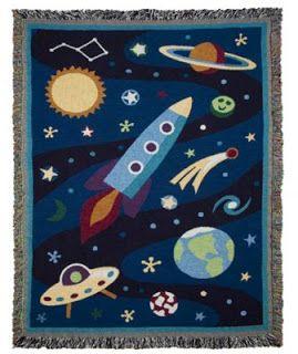 Oma gaat de ruimte in - ruimtetapijtje