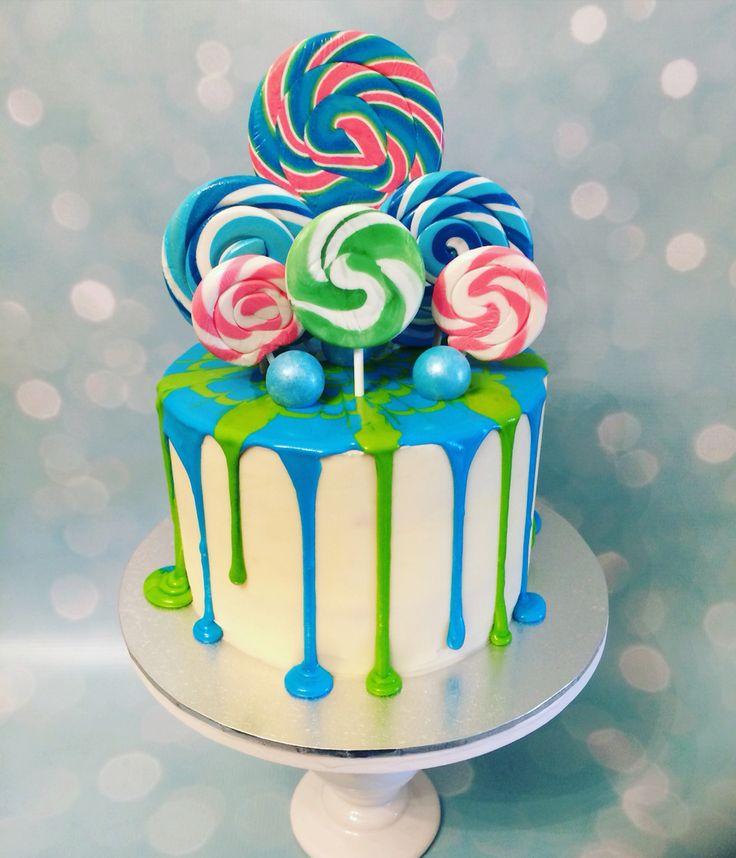 Drizzle, Drippy Lollipop cake