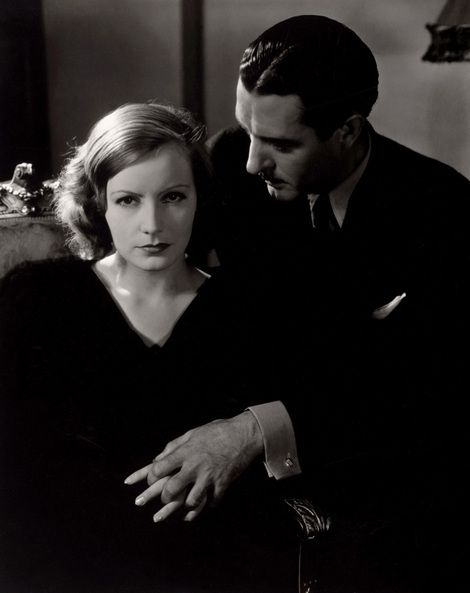 Edward Steichen, Greta Garbo and John Gilbert 1928
